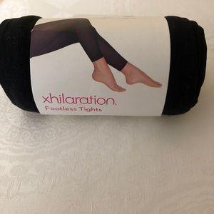 Xhilaration footless tights S/M